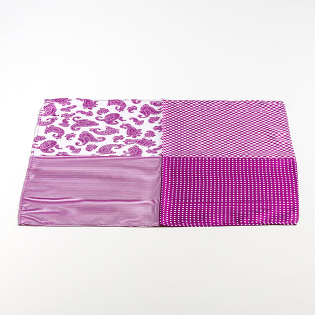 Multi Pink Pocket Square