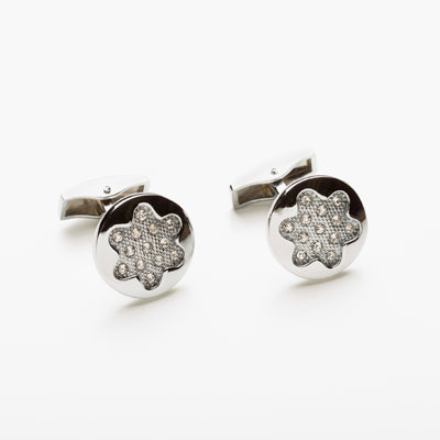 Star Of David Pavé Style Cufflinks