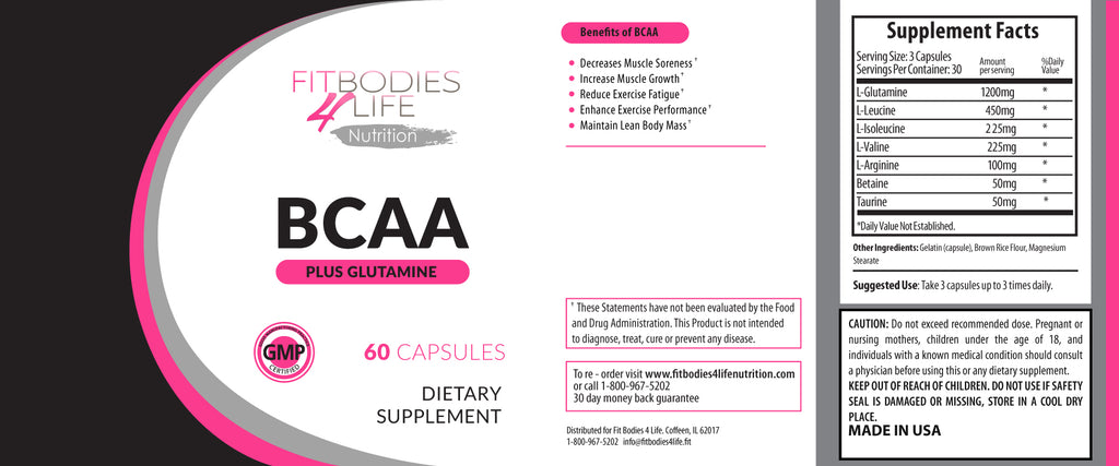 BCAA with Glutamine