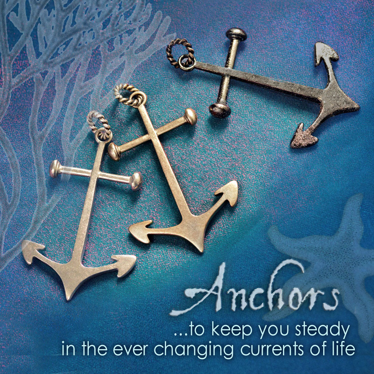 Anchor Pendant for life's changing currents