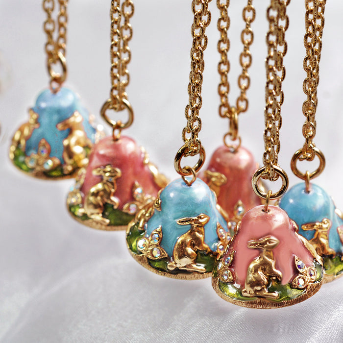 Bunny Belles Bell Necklace BEL106