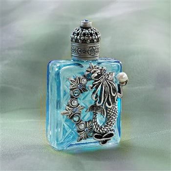Limited Edition Vintage Mini Perfume Bottle 607 - sweetromanceonlinejewelry