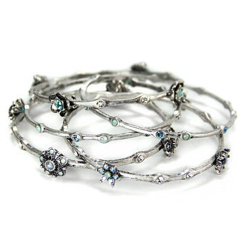 Retro Bangle Bracelet Set of 5 BR720