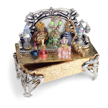 Miniature Perfume Tray Storybox