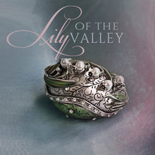 Load image into Gallery viewer, Limited Edition Lily of the Valley Egg Box BX45 - sweetromanceonlinejewelry