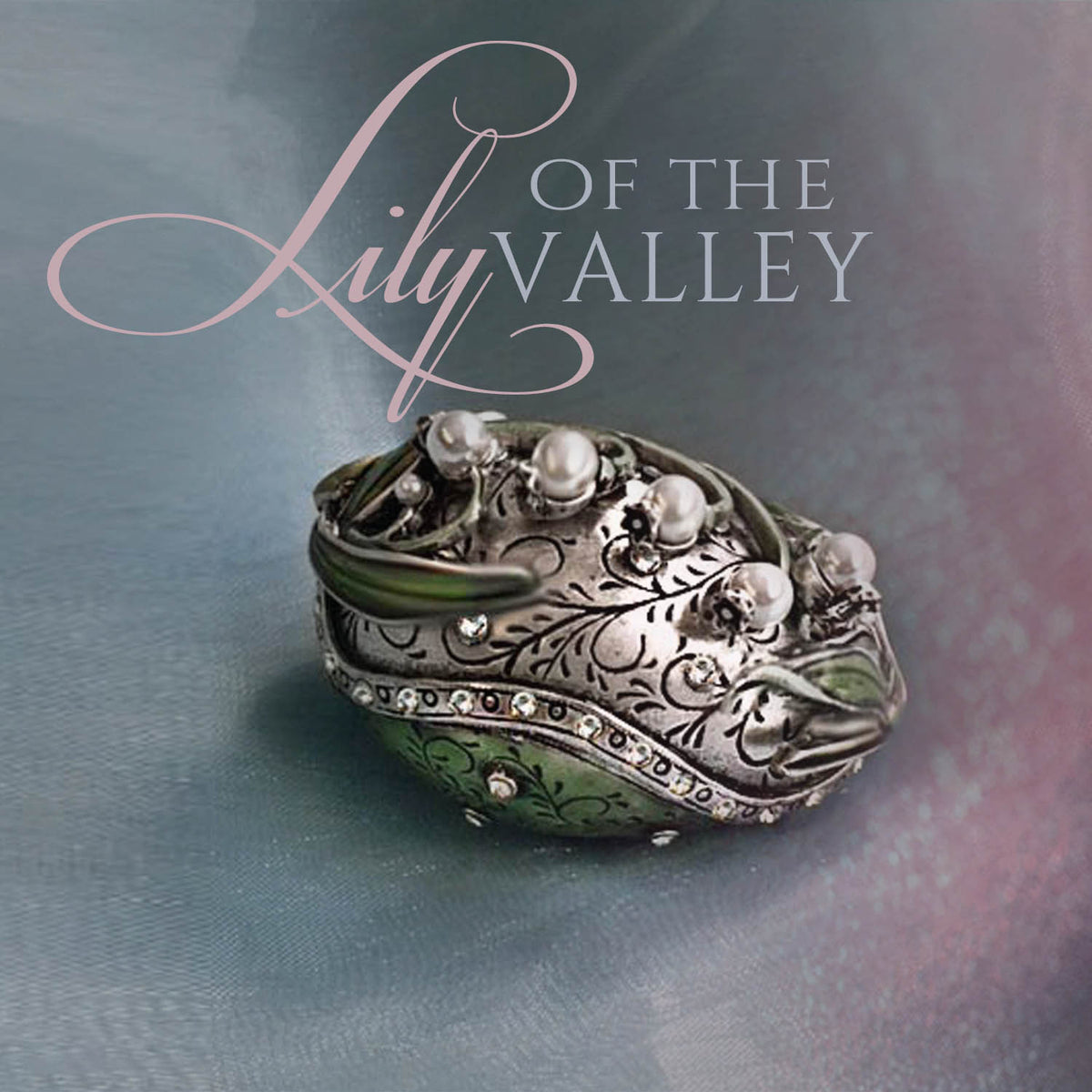 Limited Edition Lily of the Valley Egg Box BX45