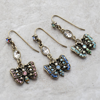 Butterfly Earrings E1454 - sweetromanceonlinejewelry