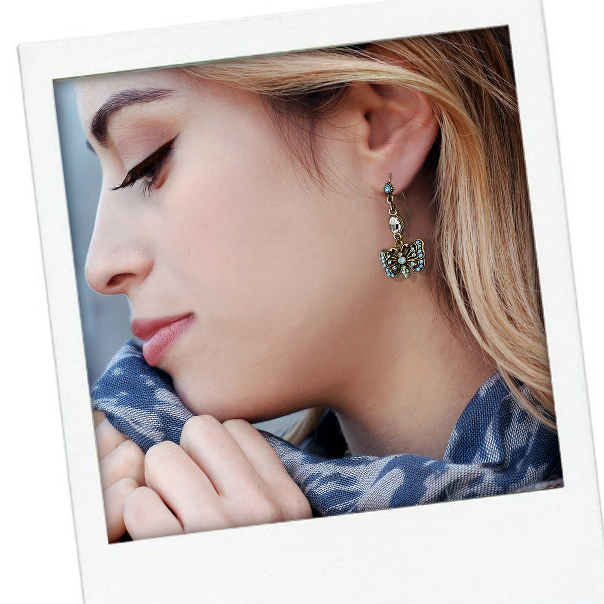 Butterfly Earrings E1454