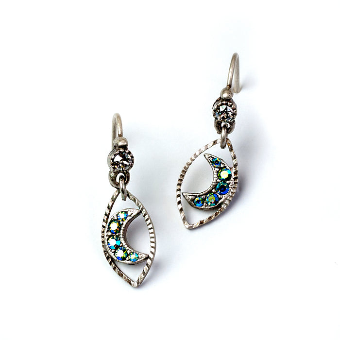 Dangling Moon Earrings E1493 - sweetromanceonlinejewelry