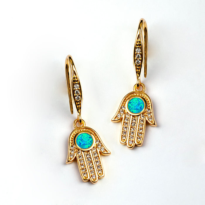Hamsa Earrings E1502 - sweetromanceonlinejewelry