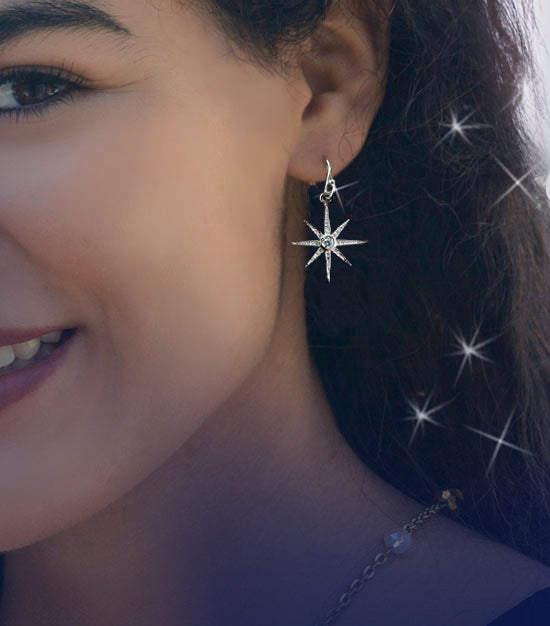 North Star Earrings E1506 PRE-ORDER