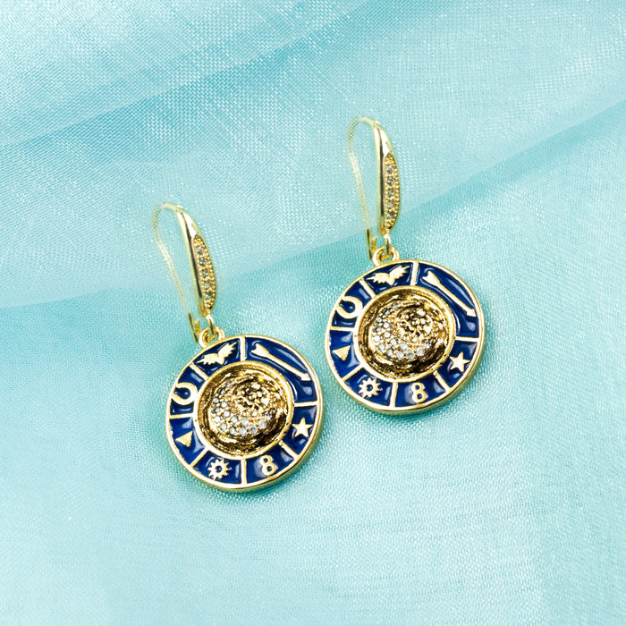 Mystic Moon Earrings E1512 - sweetromanceonlinejewelry