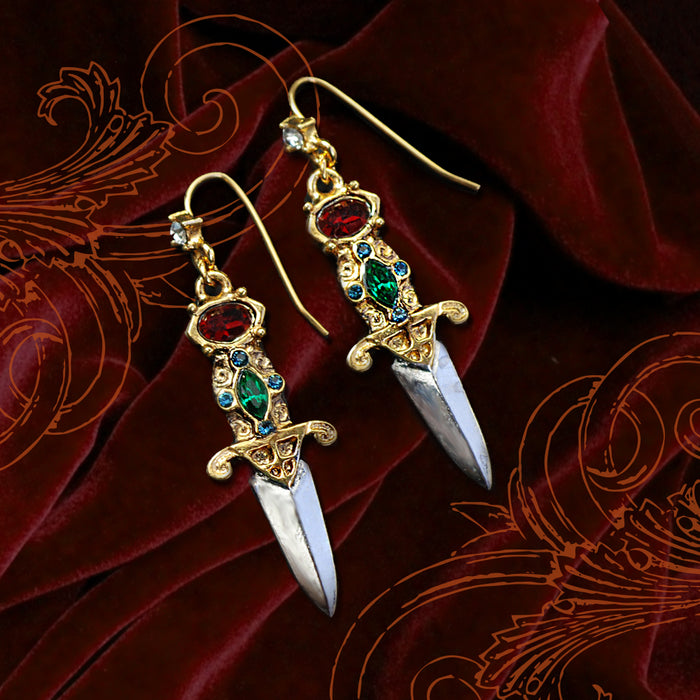 Elvira's Dagger Earrings EL_E105