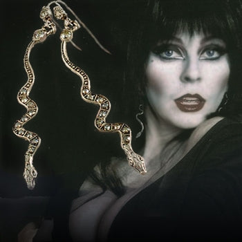 Elvira's Serpent Earrings