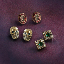 Load image into Gallery viewer, Elvira's Gothic Earring Trio