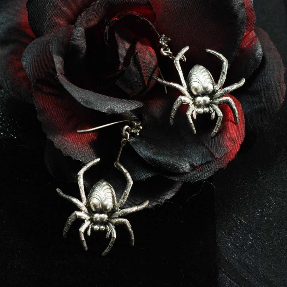 Elvira's Spider Earrings