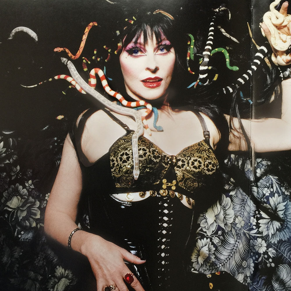 Elvira's Mystical Crystal Snake Necklace