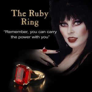 Elvira's Magic Ruby Ring