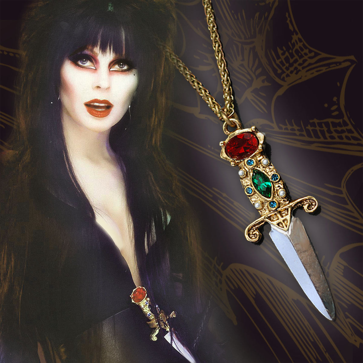 Elvira's Dagger Necklace EL_N105