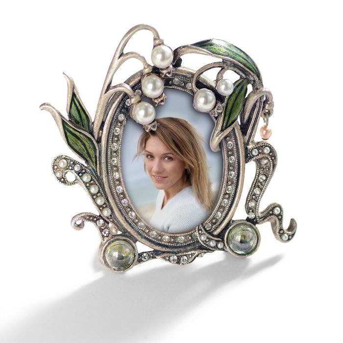 Lily of the Valley Miniature Picture Photo Frame