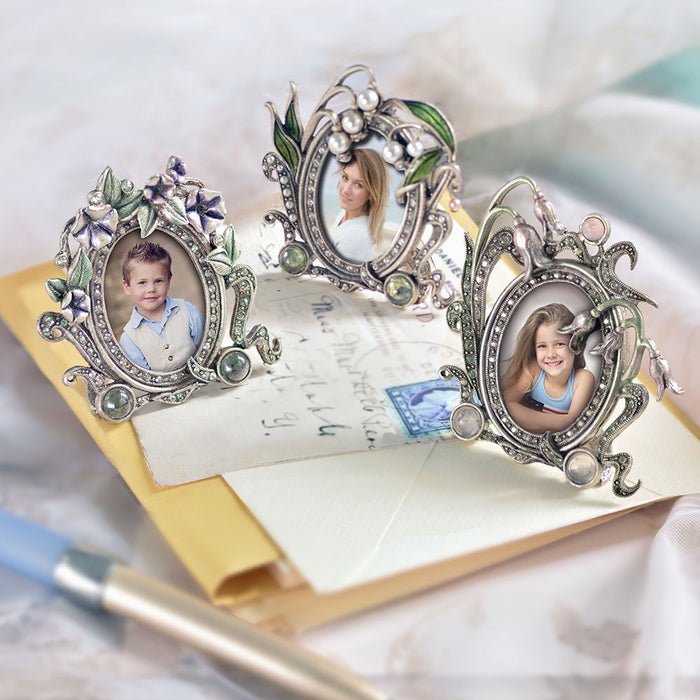 Morning Glory Miniature Picture Photo Frame