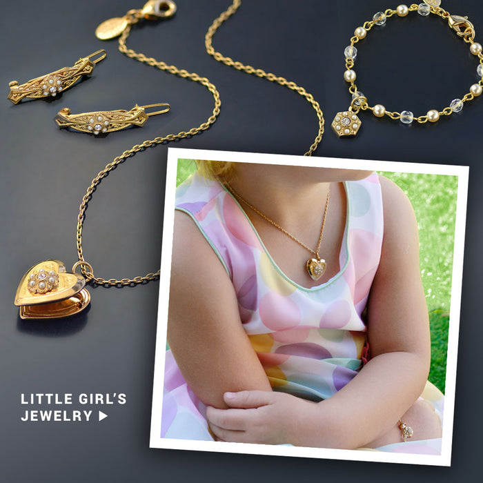 Little Girls Jewelry Set