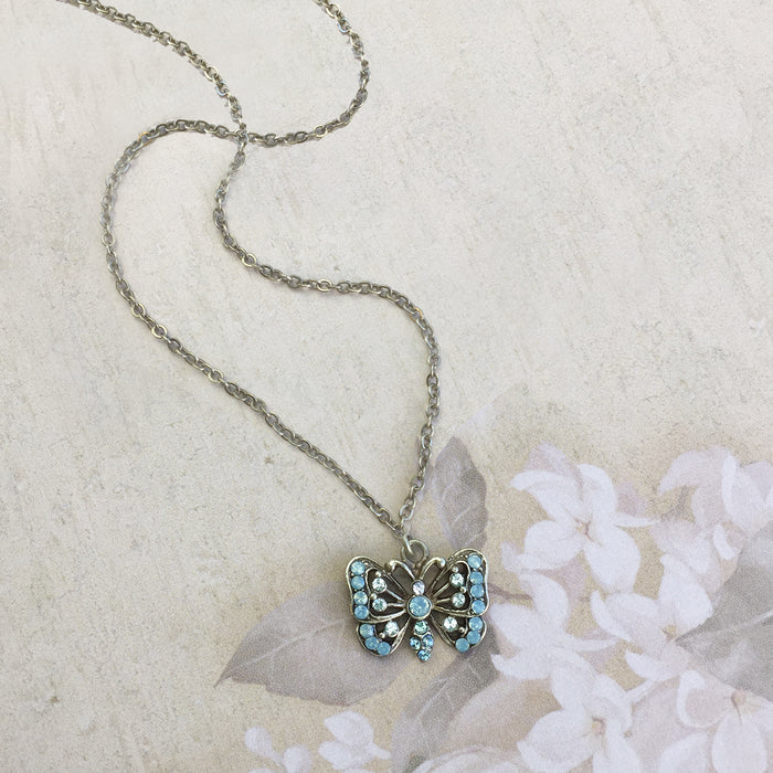 Butterfly Necklace N1589 - sweetromanceonlinejewelry