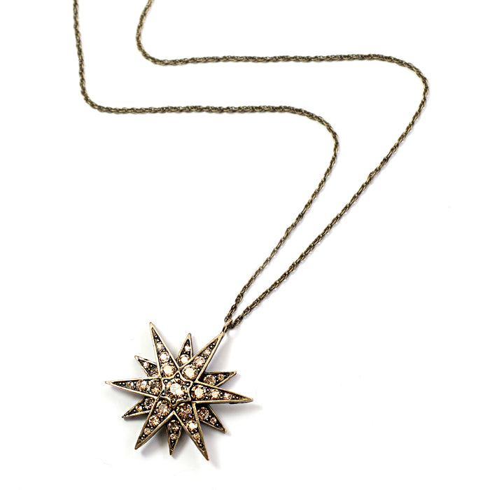 Star Necklace N1633 - sweetromanceonlinejewelry