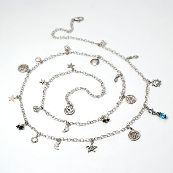 Celestial Charm Necklace N1641 - sweetromanceonlinejewelry