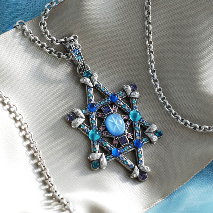 Star of Esther Necklace N370
