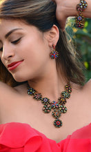 Load image into Gallery viewer, Calypso Rainbow Statement Necklace N499