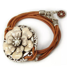 Load image into Gallery viewer, Desert Rose Wrap Bracelet