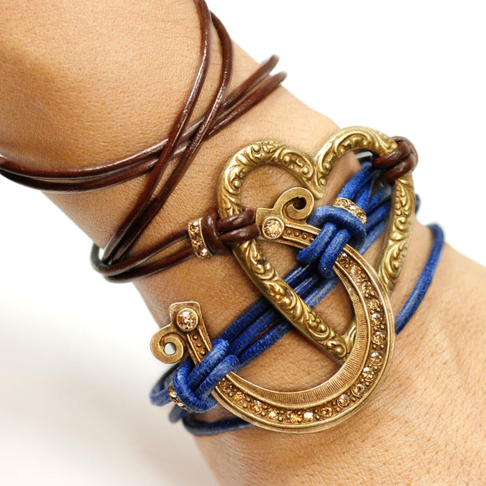 Cowgirl at Heart Wrap Bracelet