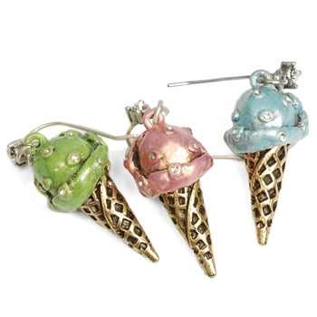 Ice Cream Earrings E272 - sweetromanceonlinejewelry