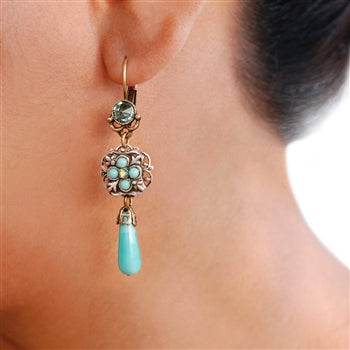 Mojave Rain Drop Earrings E302