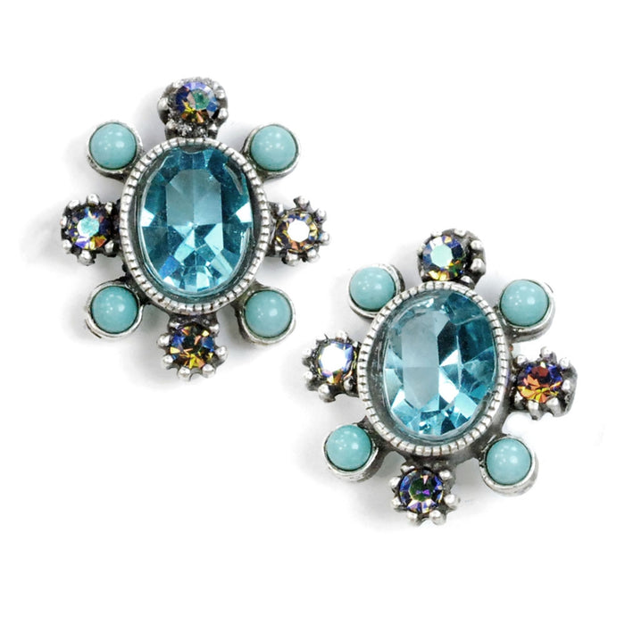Running River Stud Earrings E303