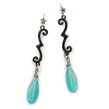 Western Wrought Iron Earrings