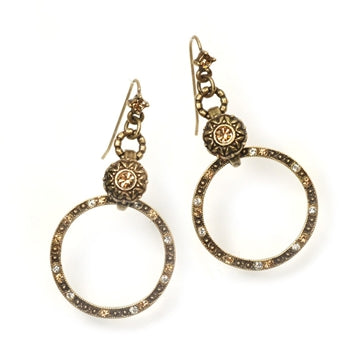 Circle Ranch Earrings E325-BZ