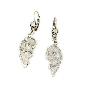 I Give You My Heart Earrings E346 - sweetromanceonlinejewelry