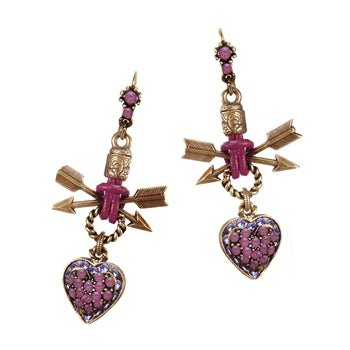 Southwest Heart Earrings