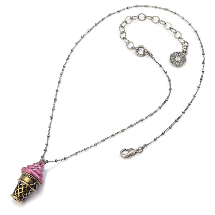 Frozen Yogurt Pendant Necklaces N146