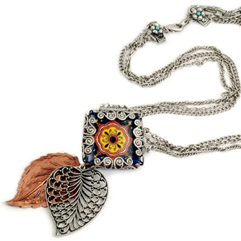 Leaves of Mazatlan Necklace - ALMOST SOLD OUT!