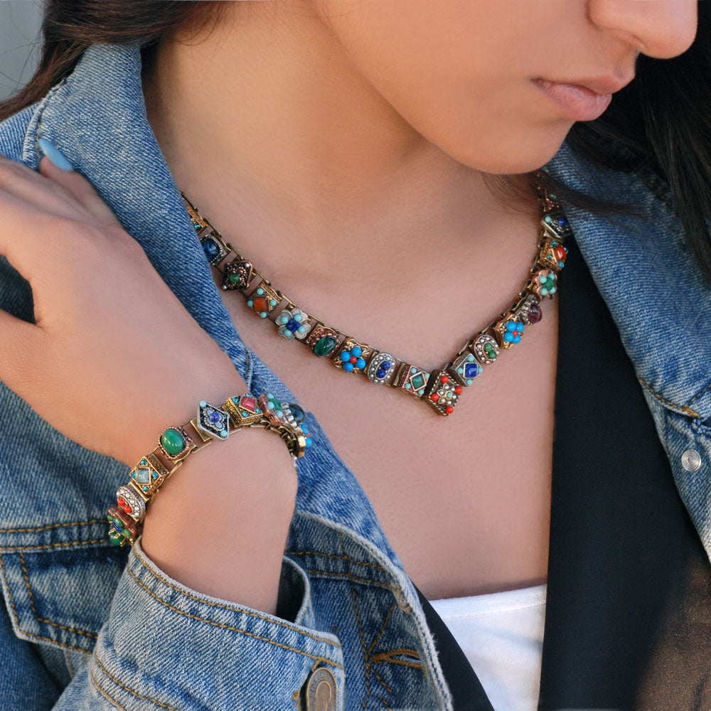 Desert Gypsy Vee Necklace