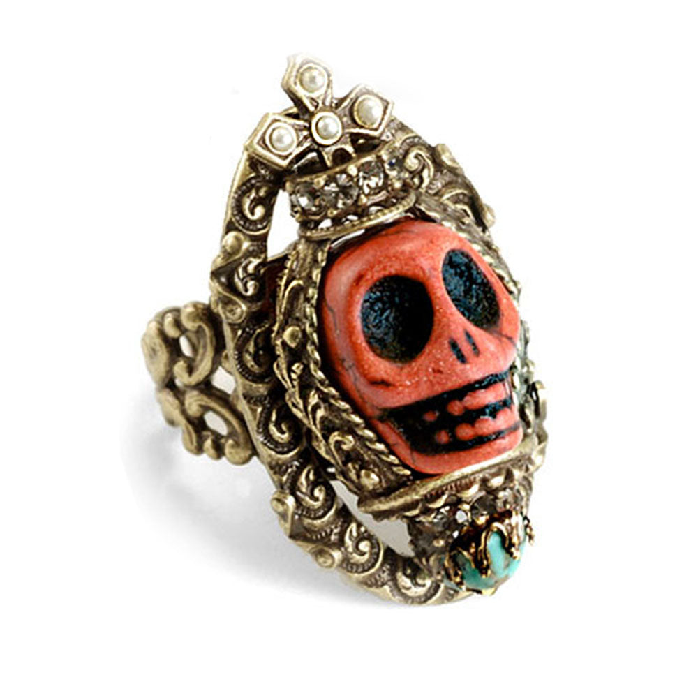 Skull Statement Ring