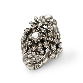 Crystal Trellis Ring OL_R904 - sweetromanceonlinejewelry