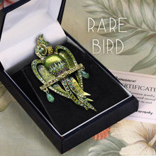 Load image into Gallery viewer, Art Deco Macaw Parrot Pin Brooch