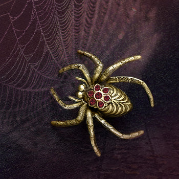 Creepy Spider Pin P651 - sweetromanceonlinejewelry
