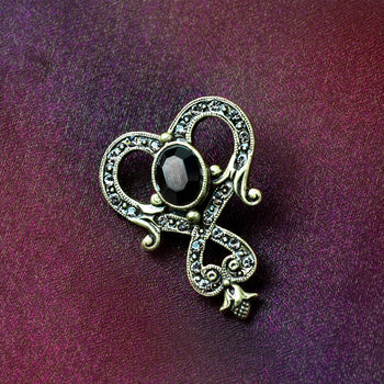 Art Deco Knot Pin Brooch P652