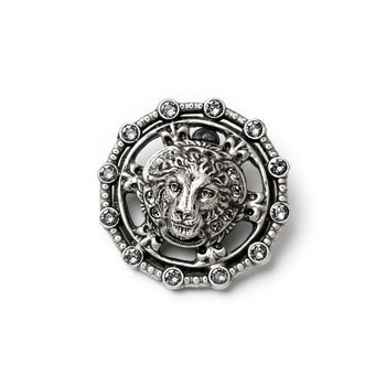 Lion Medallion Pin P654
