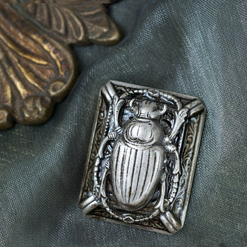 Scarab Beetle Pin P658